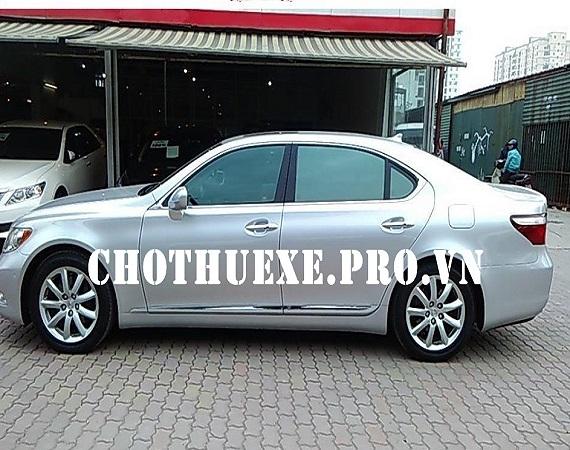 Cho thuê xe Lexus LS460L AWD: đời mới sang trọng và đẳng cấp