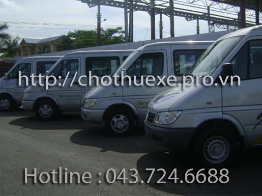 Cho thuê xe 16 chỗ đi Hoà Bình Thung Nai Mai Châu