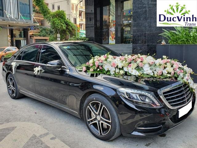 Cho thuê xe cưới Mercedes S500 VIP