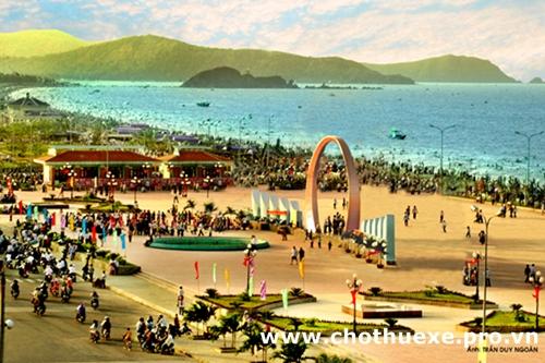 Cho thuê xe đi biển Cửa Lò du lịch Nghệ An 2