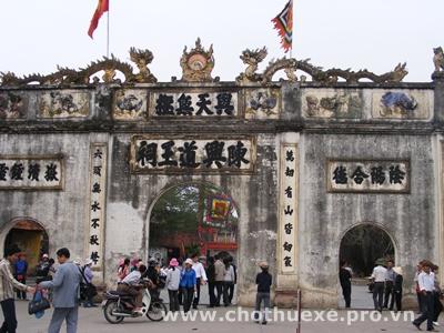 Cho thuê xe đi Côn Sơn Kiếp Bạc tại Hà Nội 2
